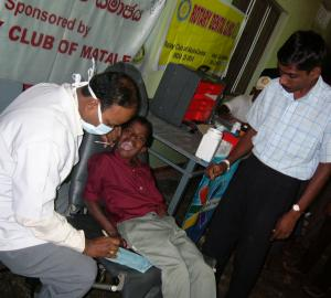 DENTAL TREATMENT CAMP FOR ORPHANS IN SRILANKA