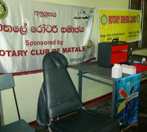 DONATED DENTAL CHAIR